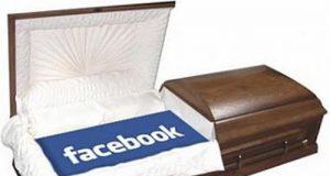 morto facebook