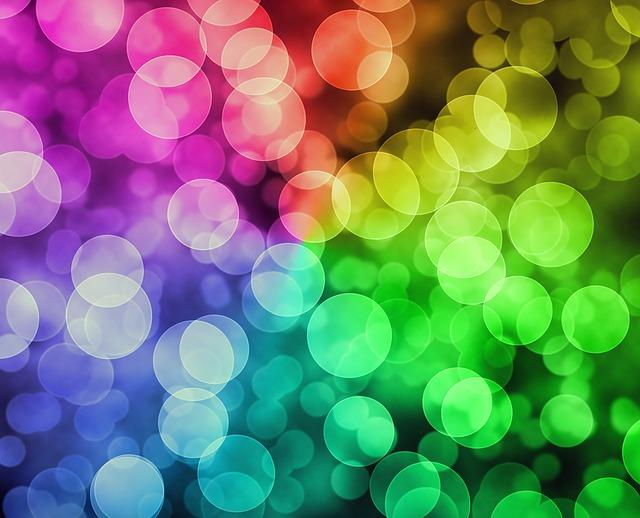 luci arcobaleno