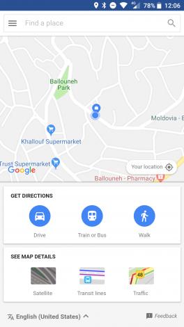 Gebruiksaanwijzing google maps