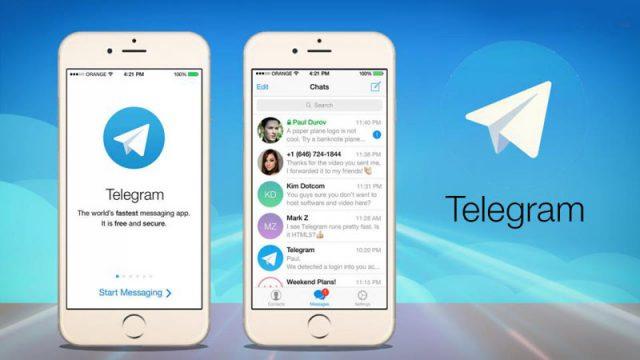 Telegram aggiornamenti Apple ios