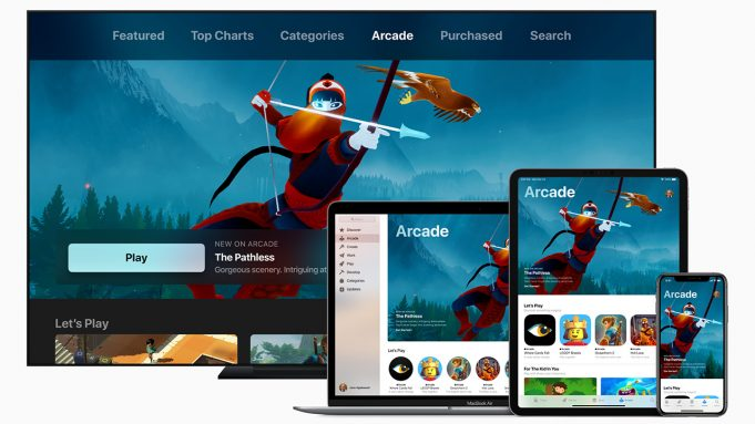 come funziona Apple Arcade