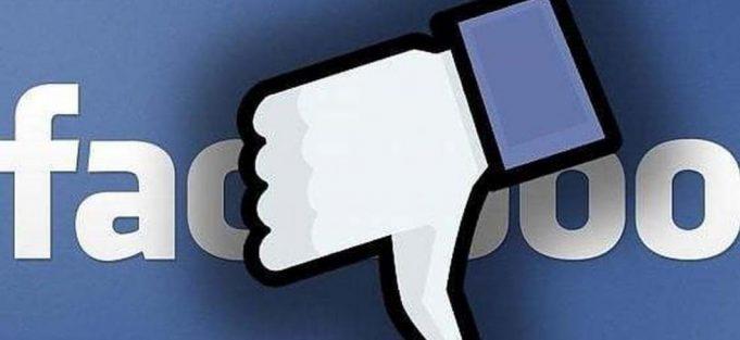 problemi facebook